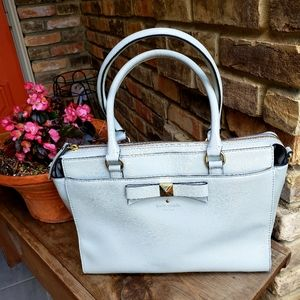 Large Kate Spade satchel with zipper top